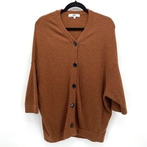 Hope by Ringstrand Soderberg button down sweater M